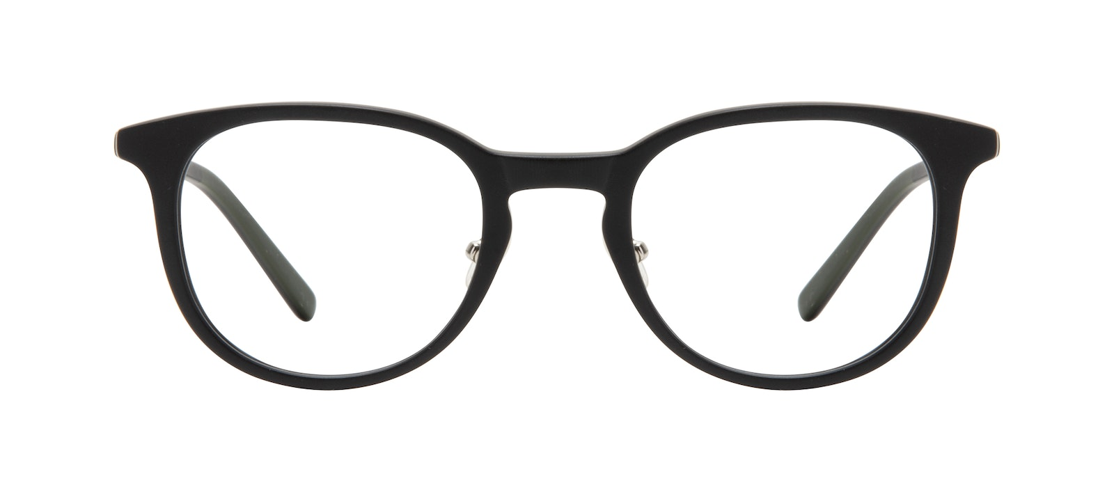 Affordable Fashion Glasses Round Eyeglasses Men Coast Onyx Matte Front