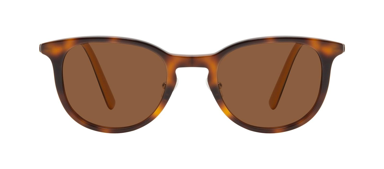 Affordable Fashion Glasses Round Sunglasses Men Coast Tortoise Front