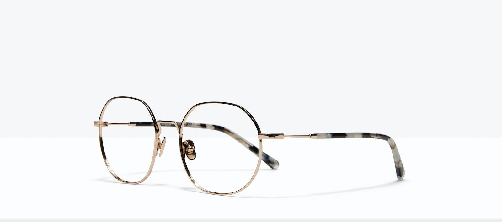b7504d65b2 Affordable Fashion Glasses Round Eyeglasses Women Coco Deep Gold Tilt