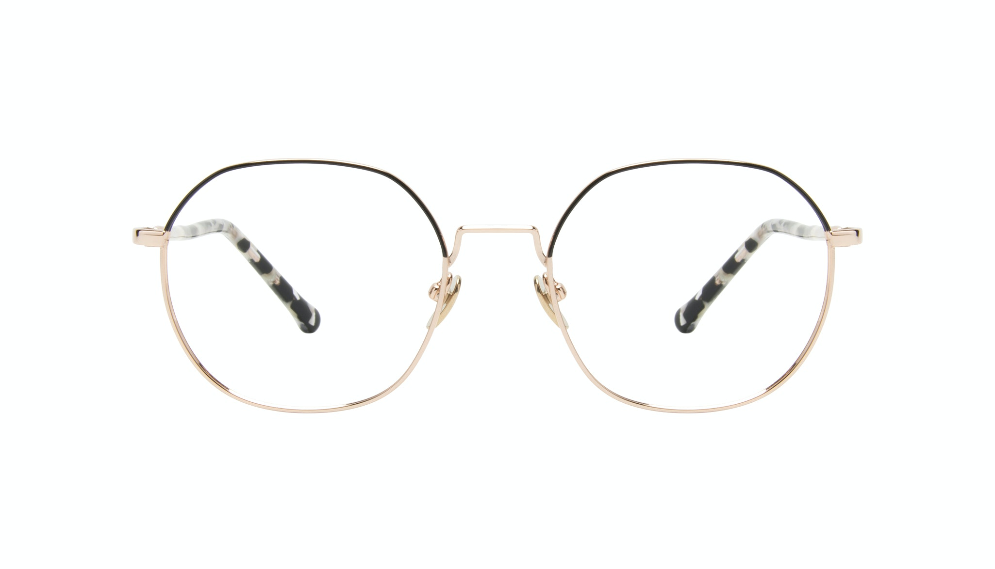 Affordable Fashion Glasses Round Eyeglasses Women Coco Deep Gold