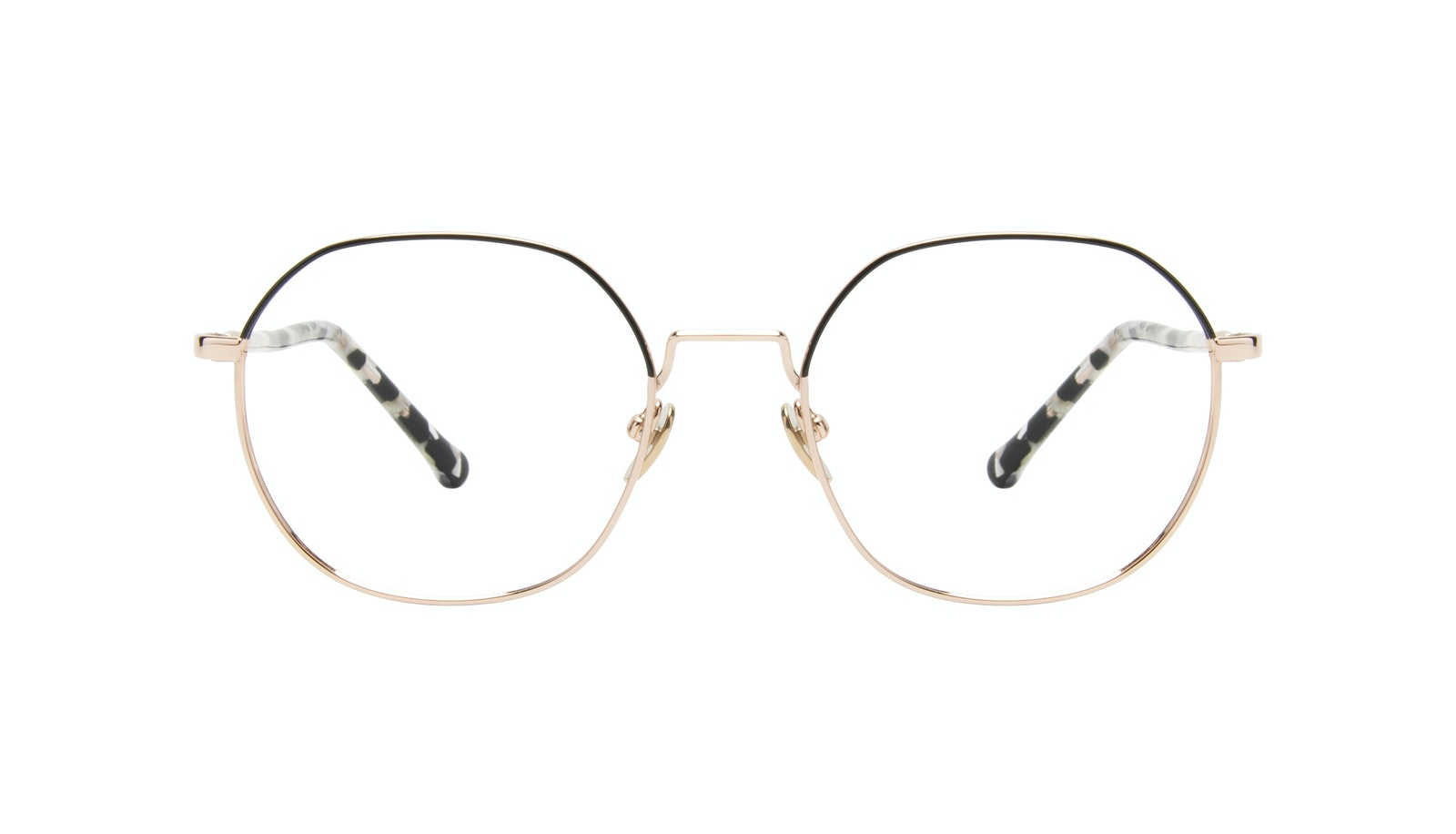 Affordable Fashion Glasses Round Eyeglasses Women Coco Deep Goldd