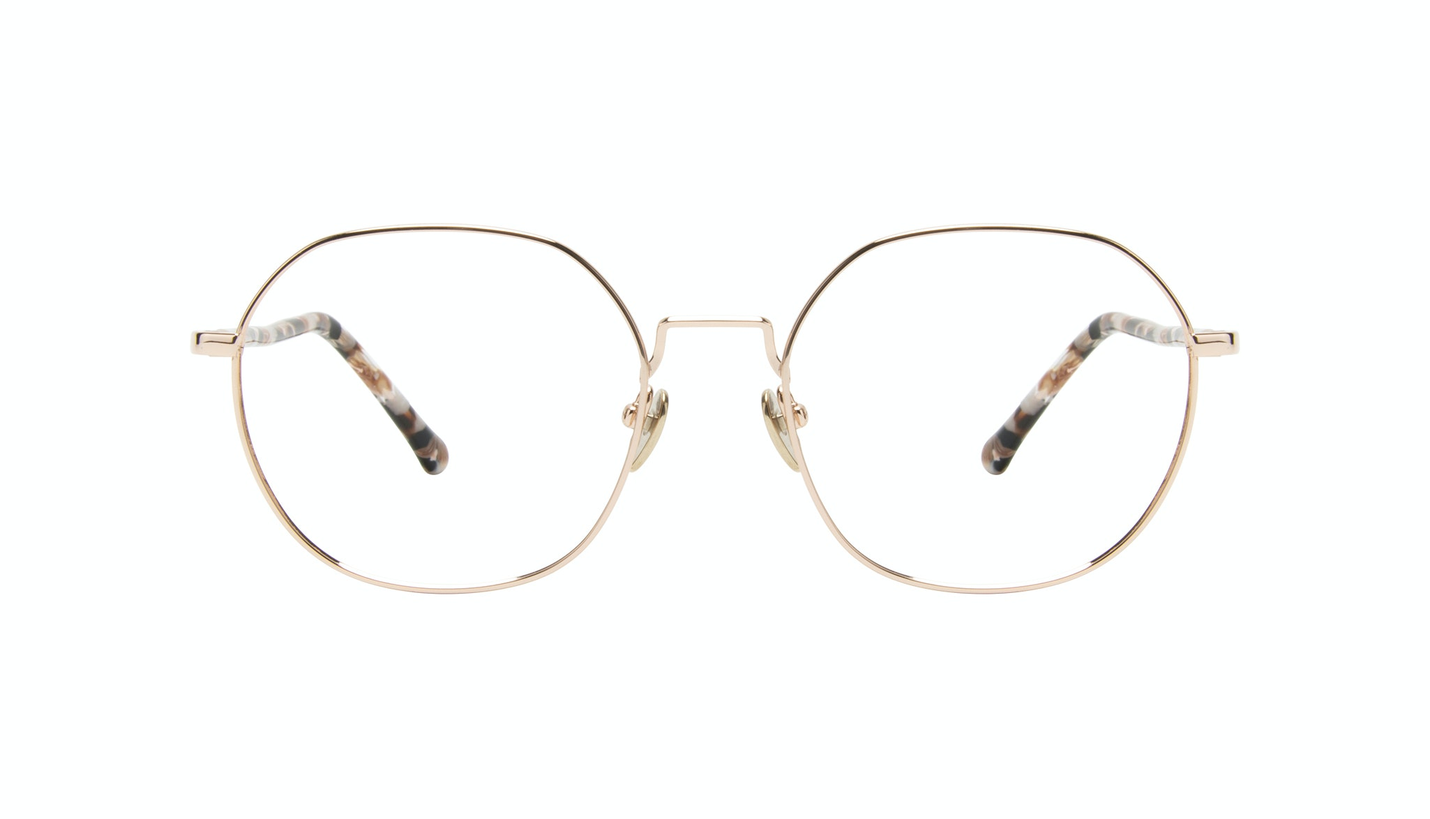 Affordable Fashion Glasses Round Eyeglasses Women Coco Gold