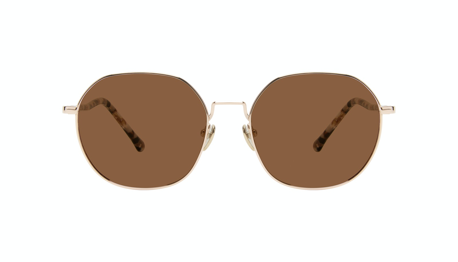 Affordable Fashion Glasses Round Sunglasses Women Coco Gold