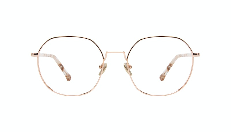 7915b18602997 Affordable Fashion Glasses Round Eyeglasses Women Coco Rose Gold