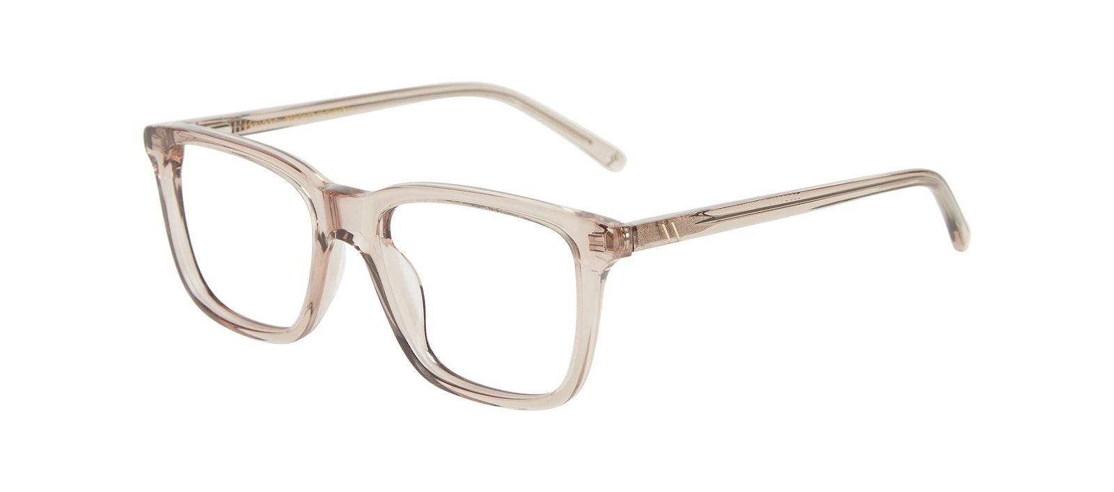 Affordable Fashion Glasses Square Eyeglasses Kids Code Junior Sand Tilt