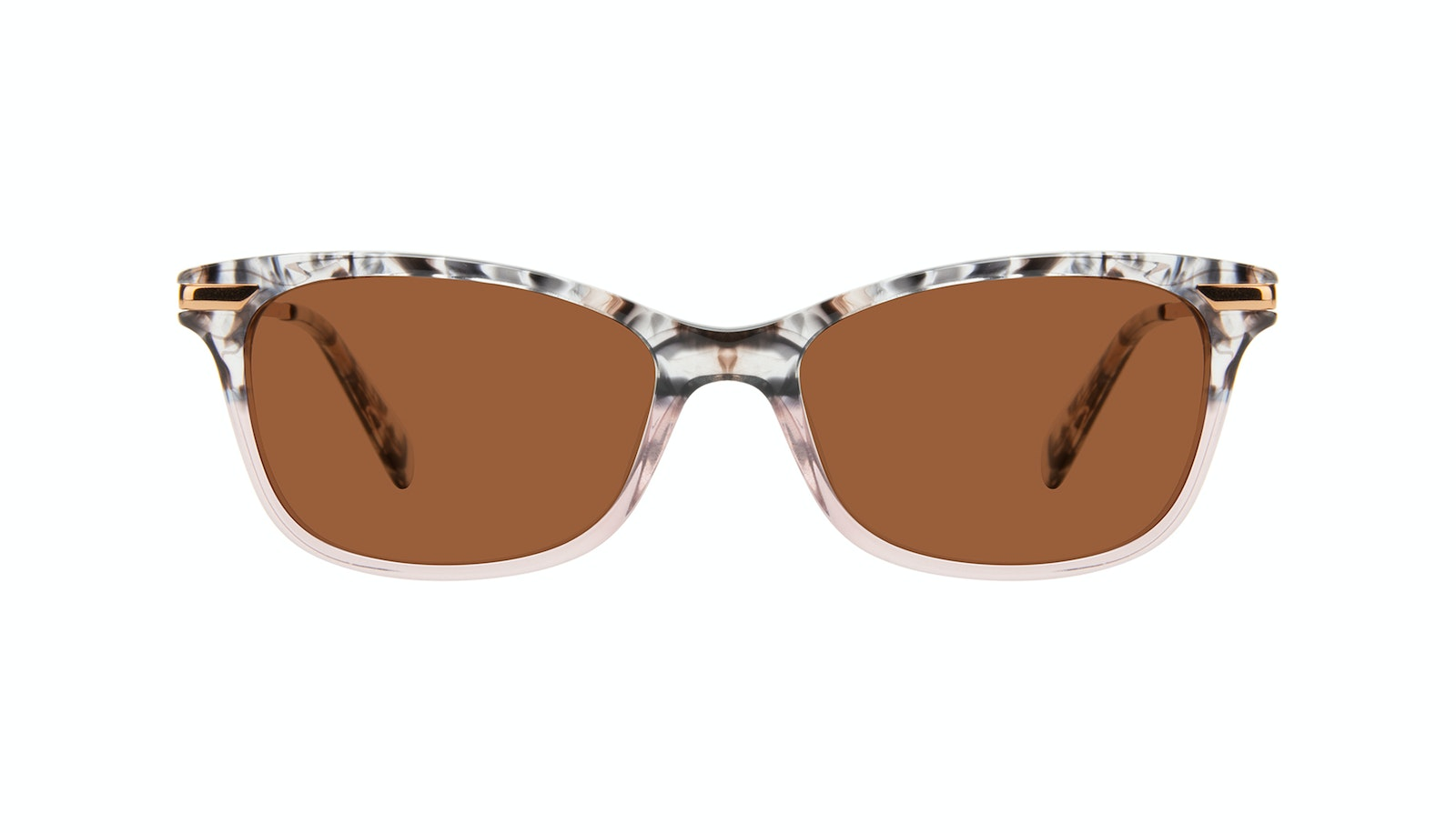 Affordable Fashion Glasses Rectangle Sunglasses Women Comet II Carbone Pink