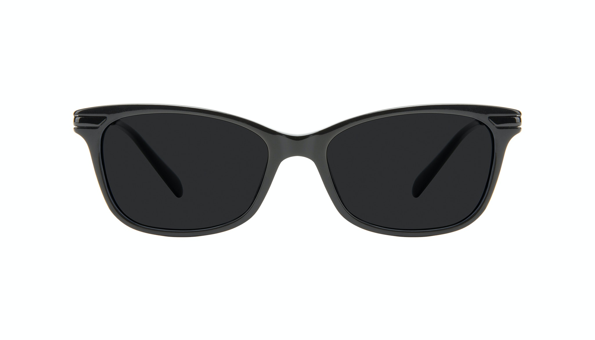 Affordable Fashion Glasses Rectangle Sunglasses Women Comet II Onyx