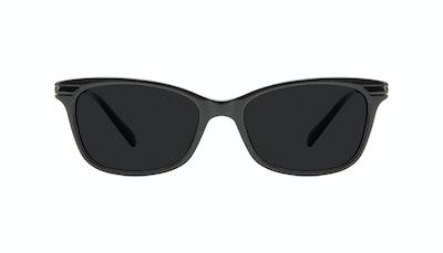 Affordable Fashion Glasses Rectangle Sunglasses Women Comet II Onyx Front