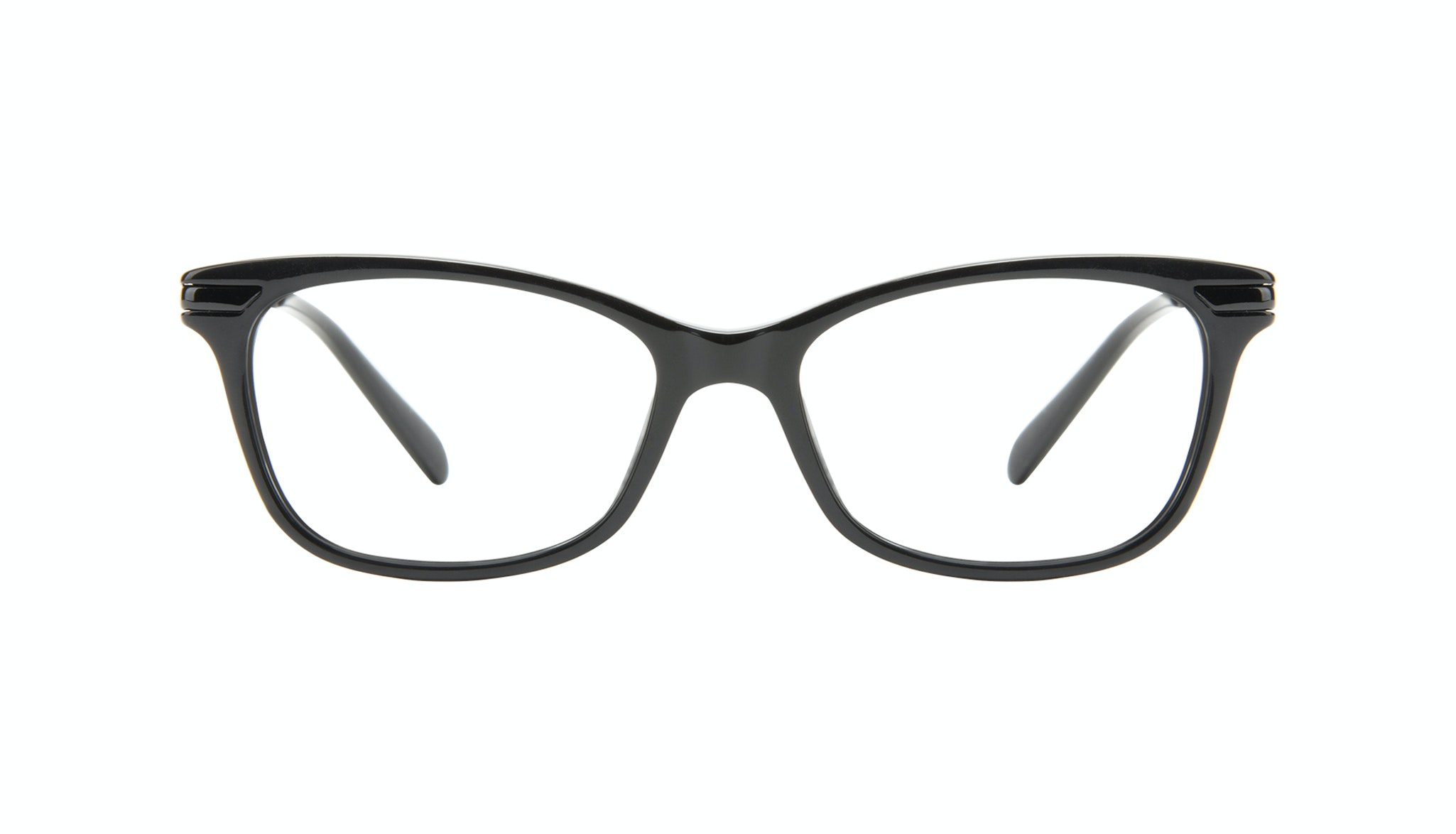 Affordable Fashion Glasses Rectangle Eyeglasses Women Comet II Onyx Front