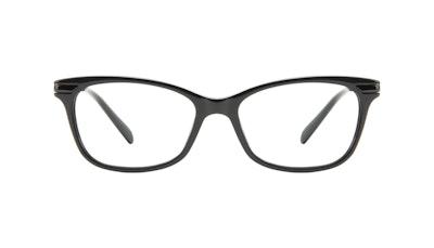 Affordable Fashion Glasses Rectangle Eyeglasses Women Comet II Onyx Front
