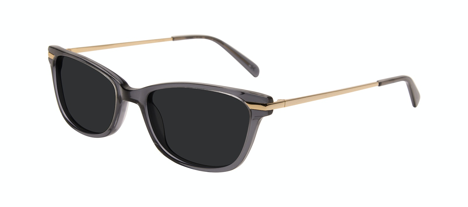 Affordable Fashion Glasses Rectangle Sunglasses Women Comet Plus Gold Shadow Tilt