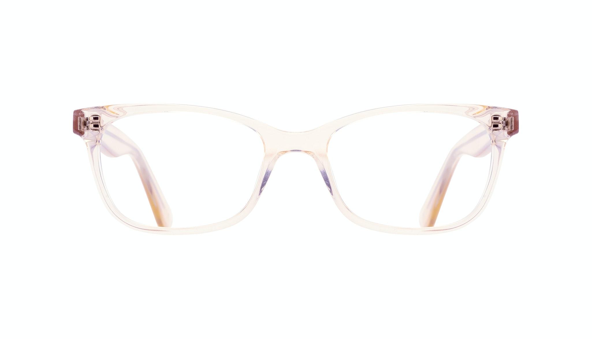 Affordable Fashion Glasses Cat Eye Rectangle Square Eyeglasses Women Comet Blond Front