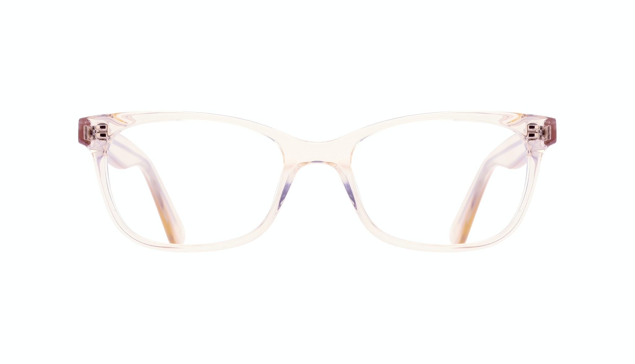 Affordable Fashion Glasses Cat Eye Rectangle Square Eyeglasses Women Comet Blond Front