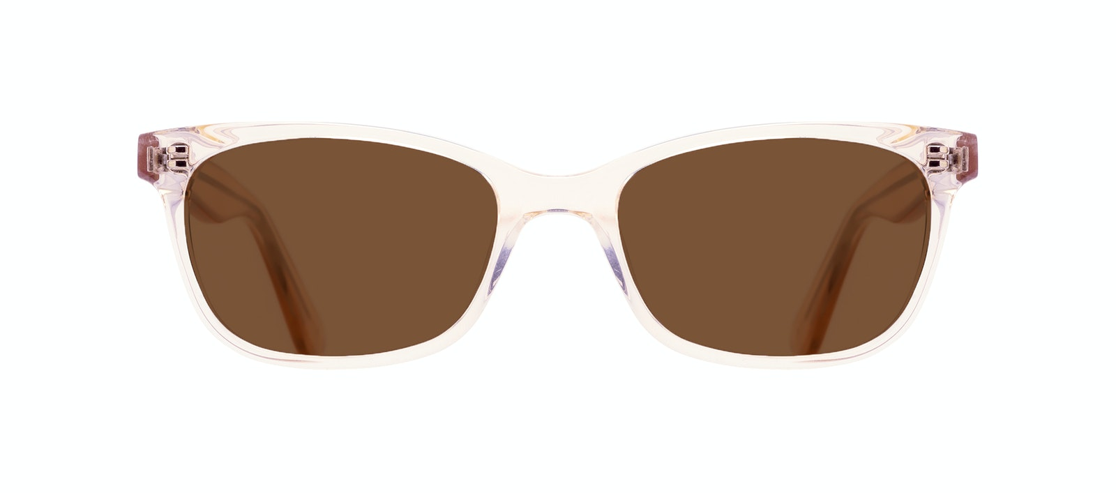 Affordable Fashion Glasses Cat Eye Rectangle Square Sunglasses Women Comet Blond Front