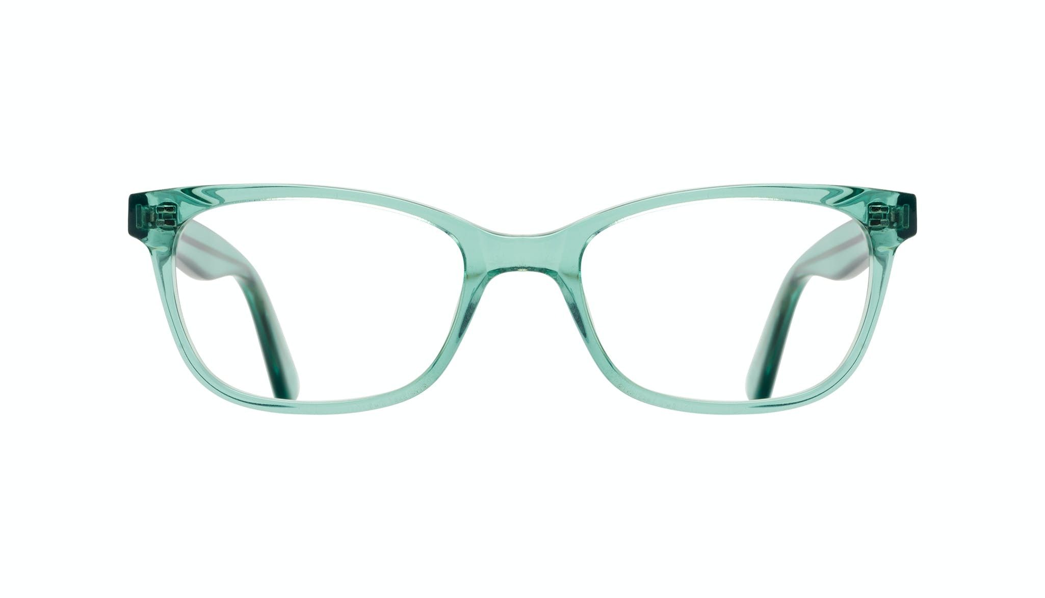Affordable Fashion Glasses Cat Eye Rectangle Square Eyeglasses Women Comet Emeraude Front