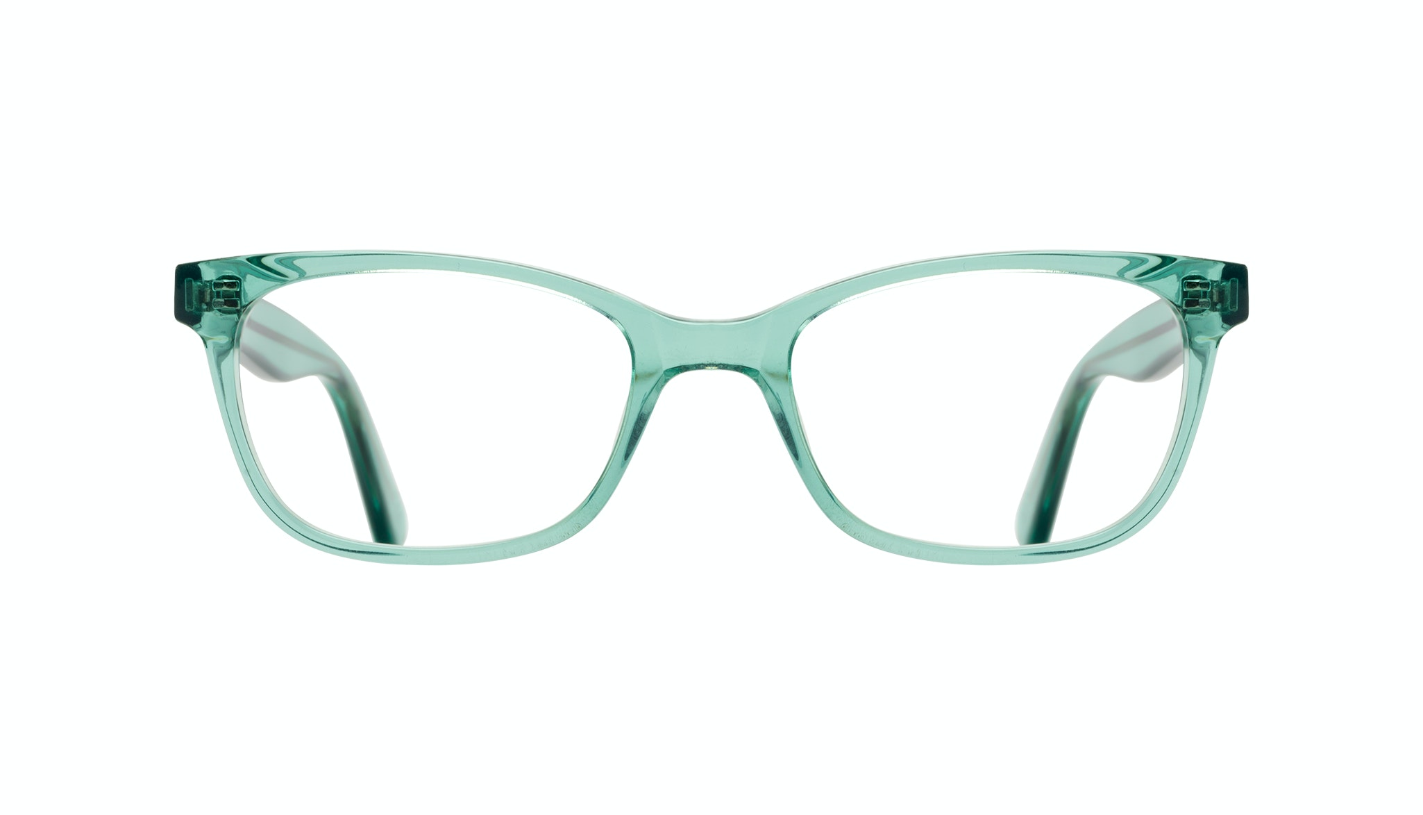 Affordable Fashion Glasses Cat Eye Rectangle Square Eyeglasses Women Comet Emeraude