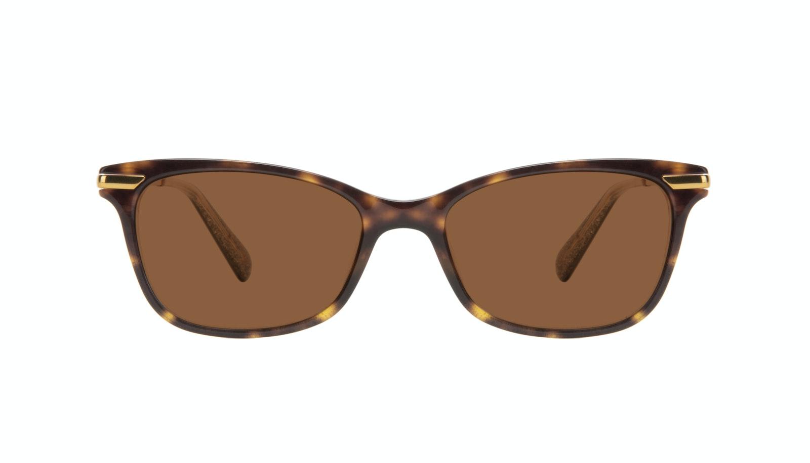 Affordable Fashion Glasses Rectangle Sunglasses Women Comet II Hazel Stardust