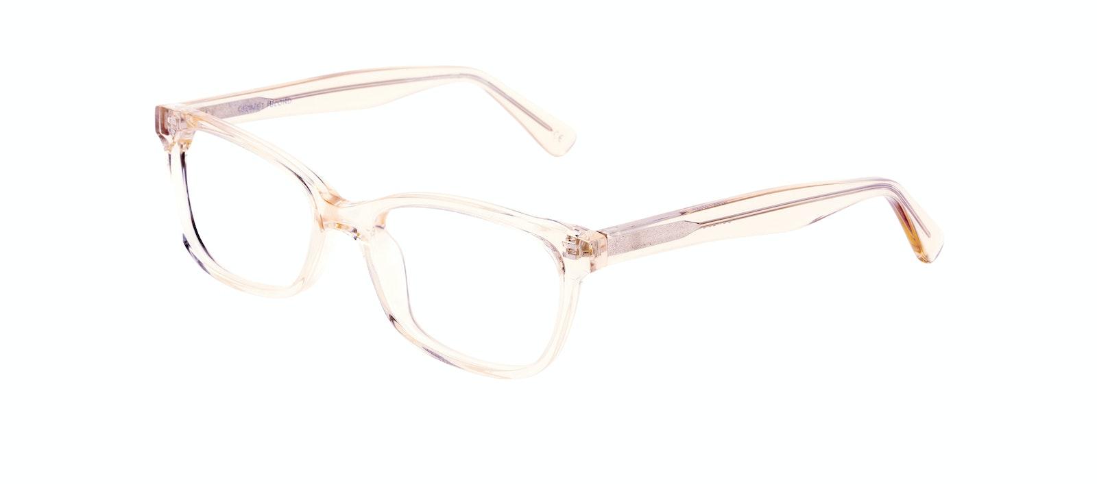 Affordable Fashion Glasses Cat Eye Rectangle Square Eyeglasses Women Comet Blond Tilt