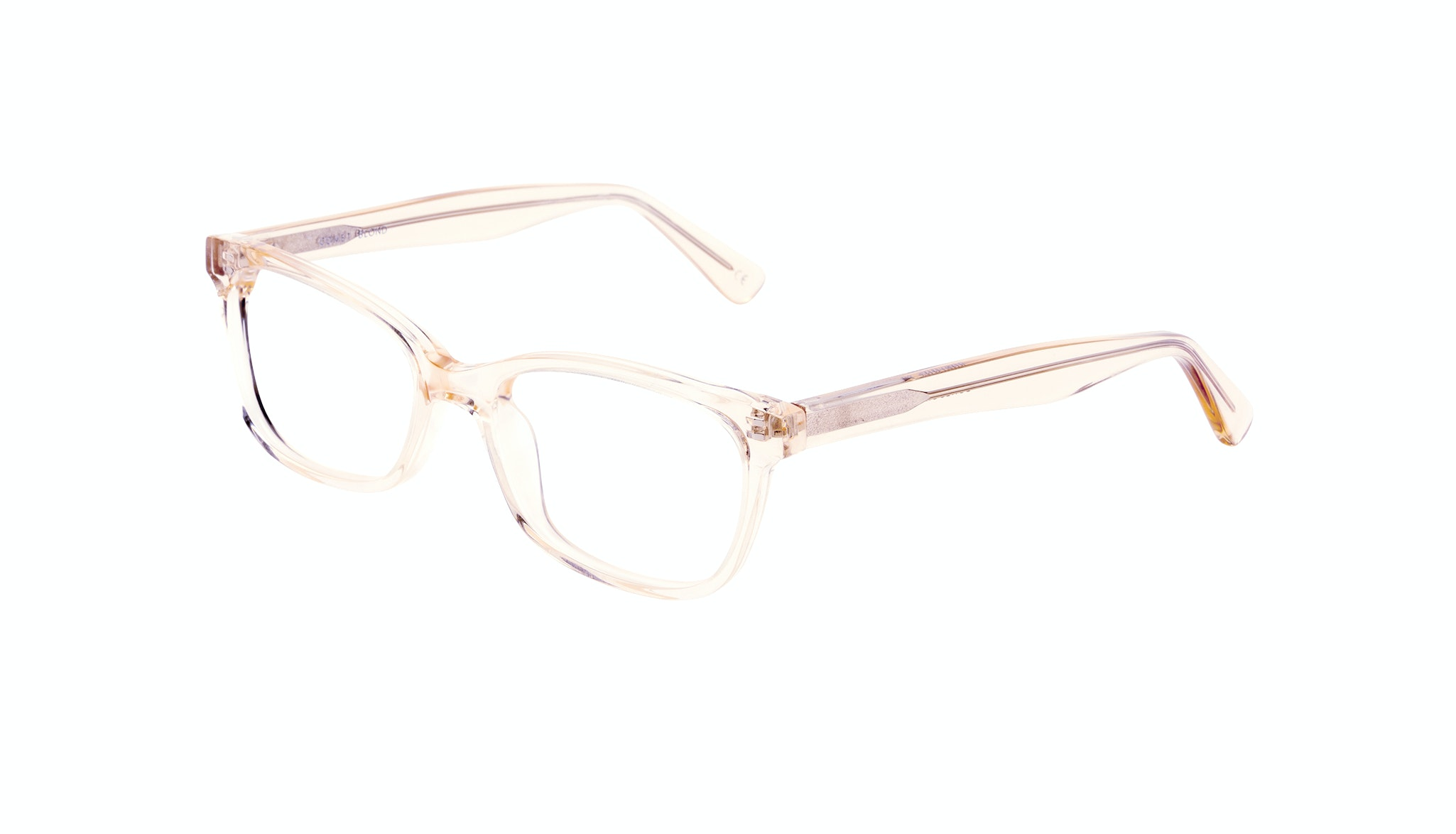 Affordable Fashion Glasses Cat Eye Rectangle Square Eyeglasses Women Comet Blond Tilt