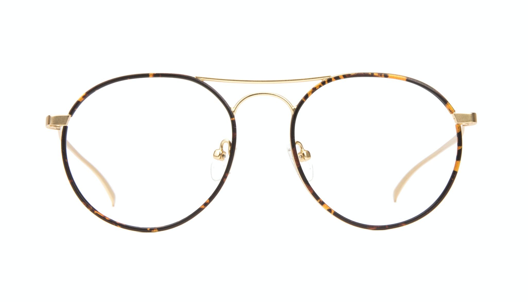 Affordable Fashion Glasses Aviator Round Eyeglasses Men Contour Tortoise