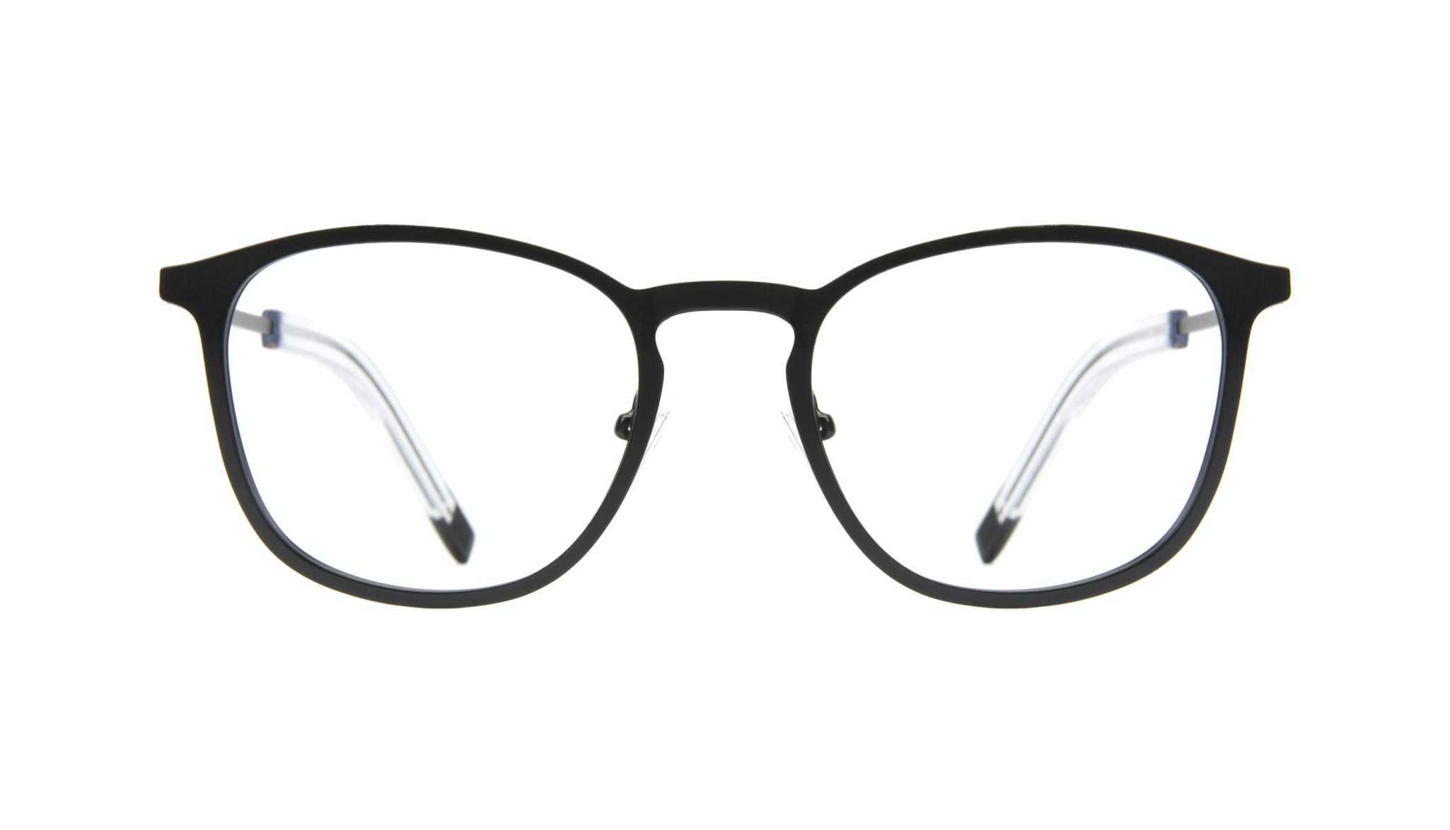 Affordable Fashion Glasses Rectangle Square Eyeglasses Men Core Matte Black