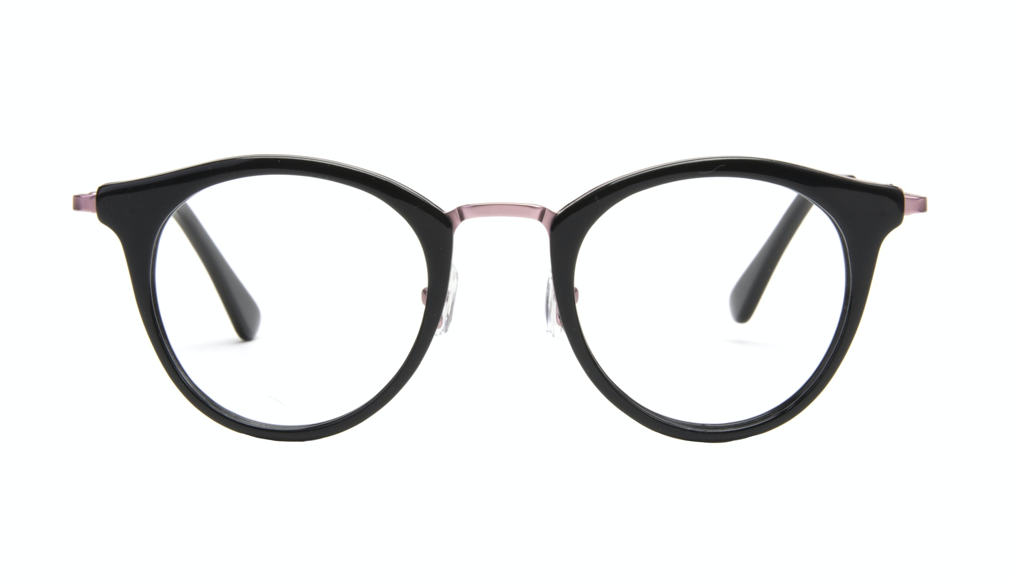Affordable Fashion Glasses Cat Eye Round Eyeglasses Women Creature Deep Shell Front