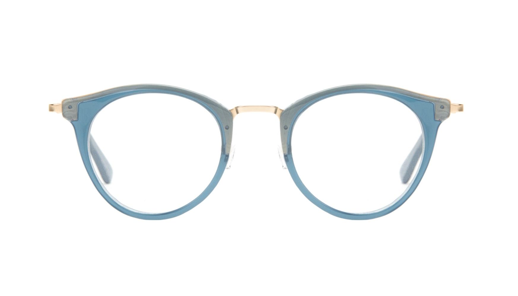 Affordable Fashion Glasses Cat Eye Round Eyeglasses Women Creature Marine Front
