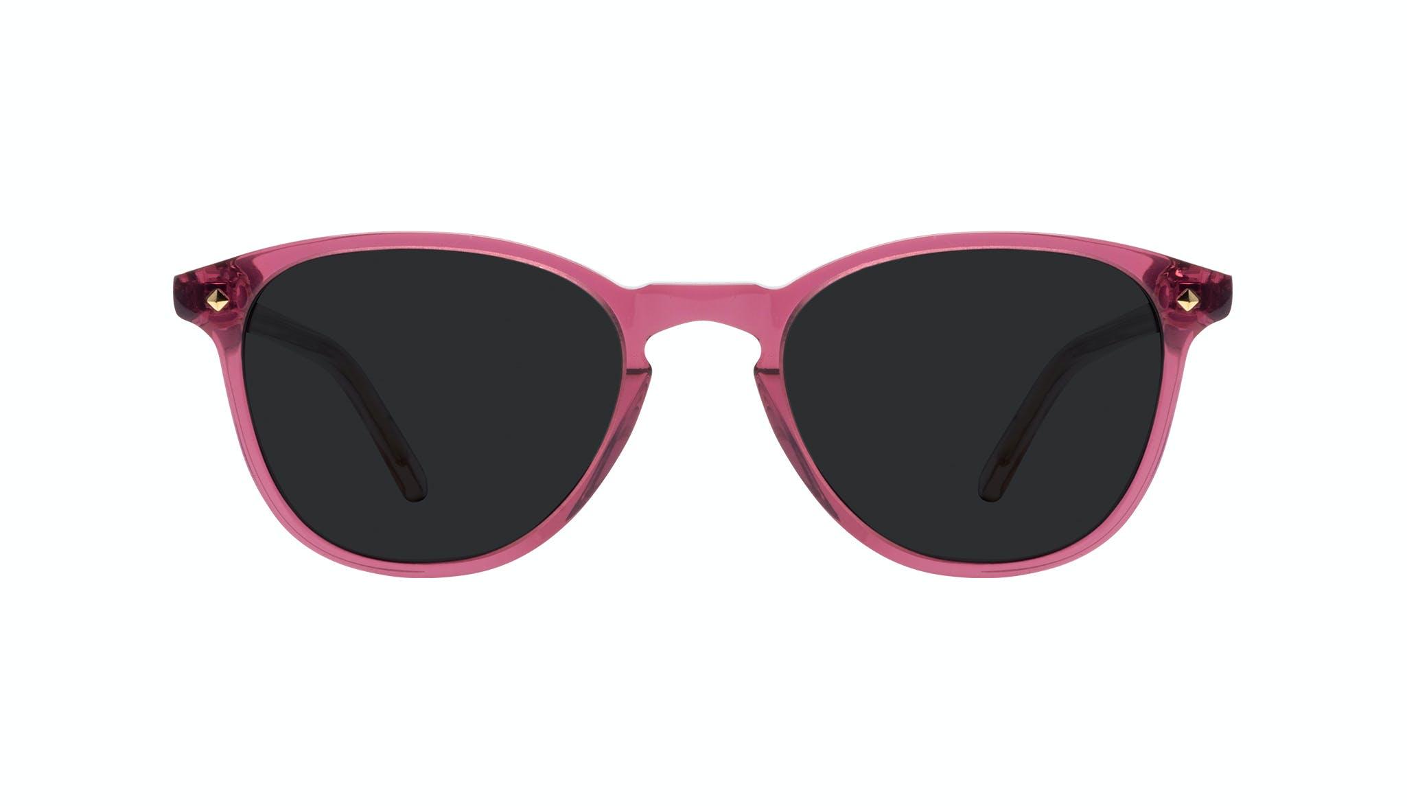 Lunettes tendance Ronde Lunettes de soleil Femmes Crush Berry