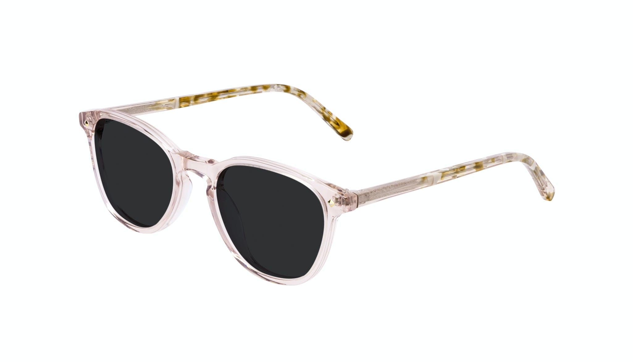 Affordable Fashion Glasses Round Sunglasses Women Crush Rose Tilt