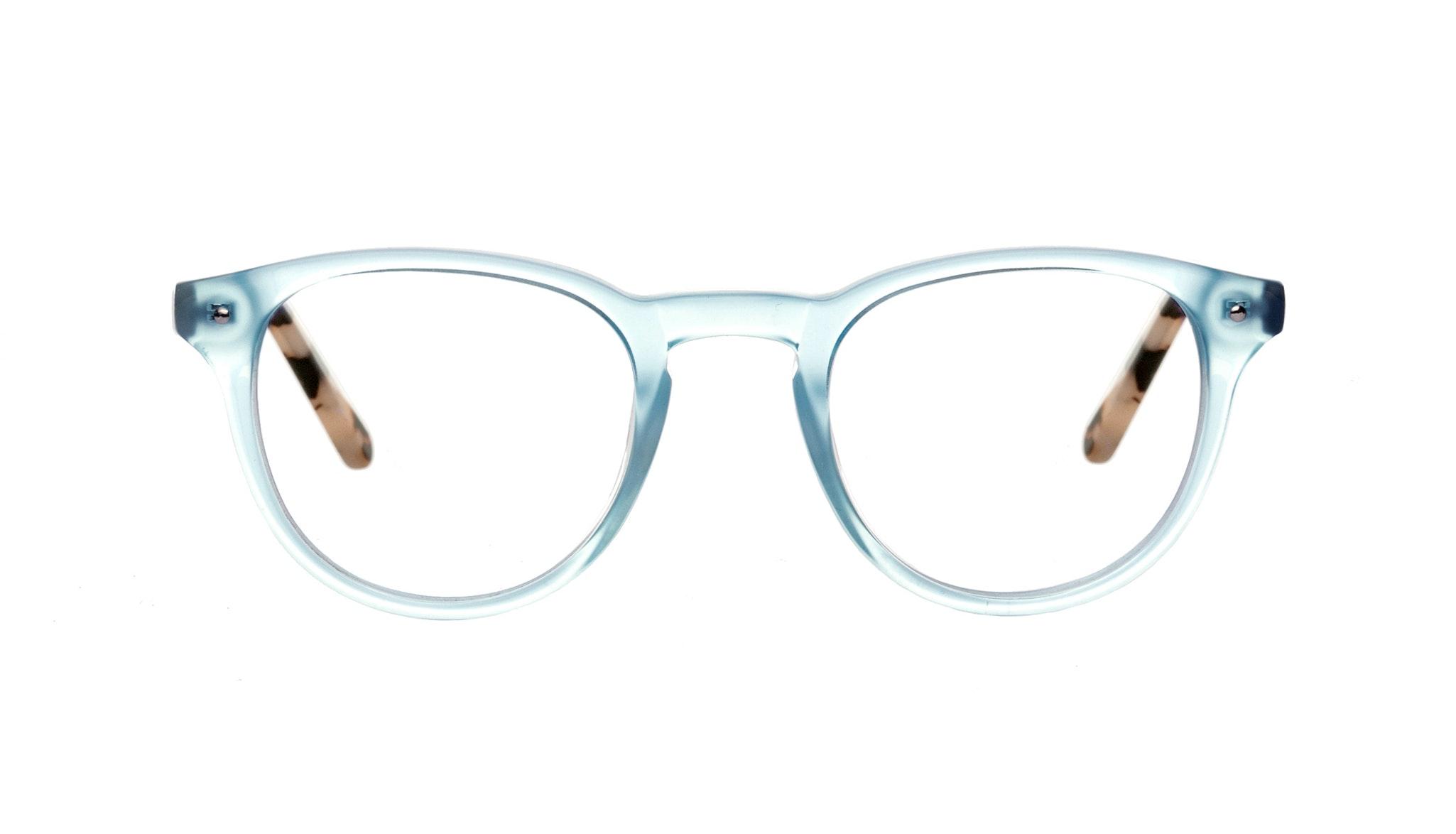 Affordable Fashion Glasses Round Eyeglasses Men Women Cult Blue Granite