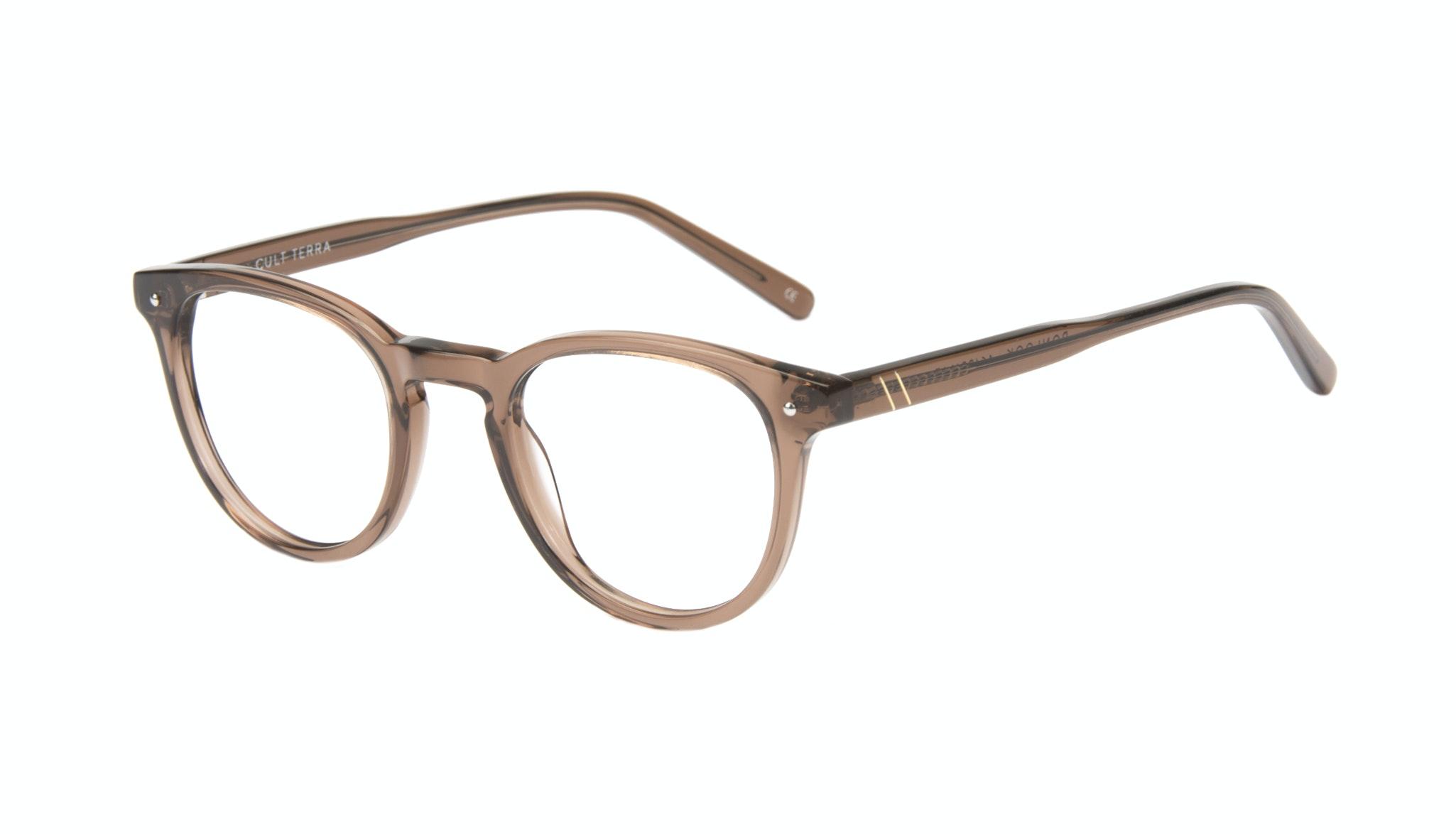 Affordable Fashion Glasses Round Eyeglasses Men Cult Terra Tilt