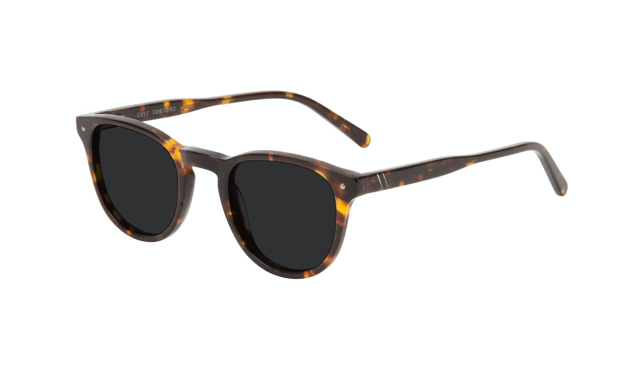 Affordable Fashion Glasses Round Sunglasses Men Cult Tortoise Tilt