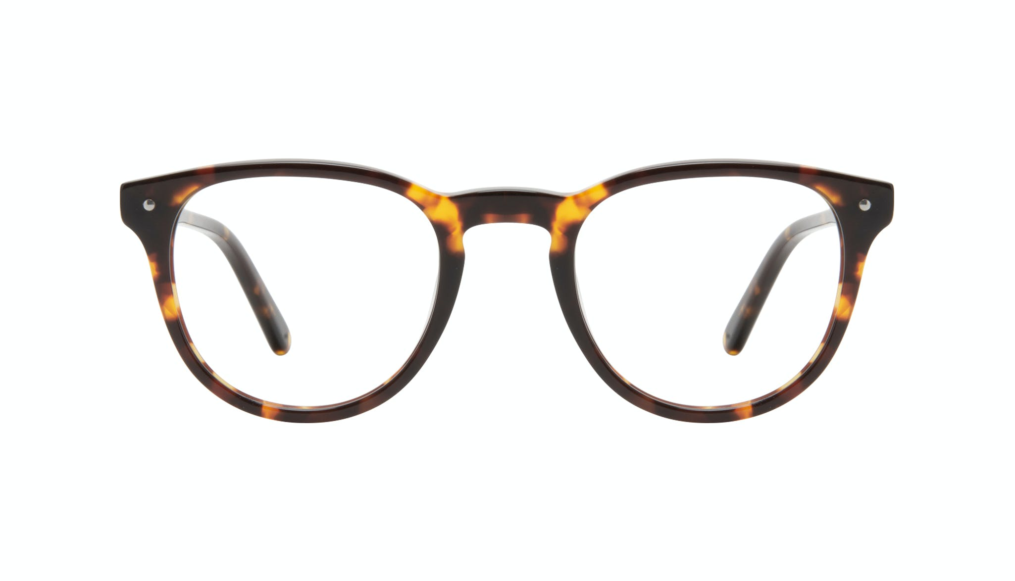 Affordable Fashion Glasses Round Eyeglasses Men Cult Tortoise Front