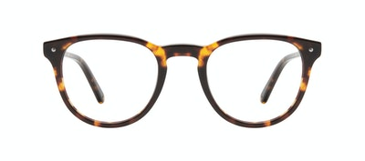 Affordable Fashion Glasses Round Eyeglasses Men Cult Tortoise Front