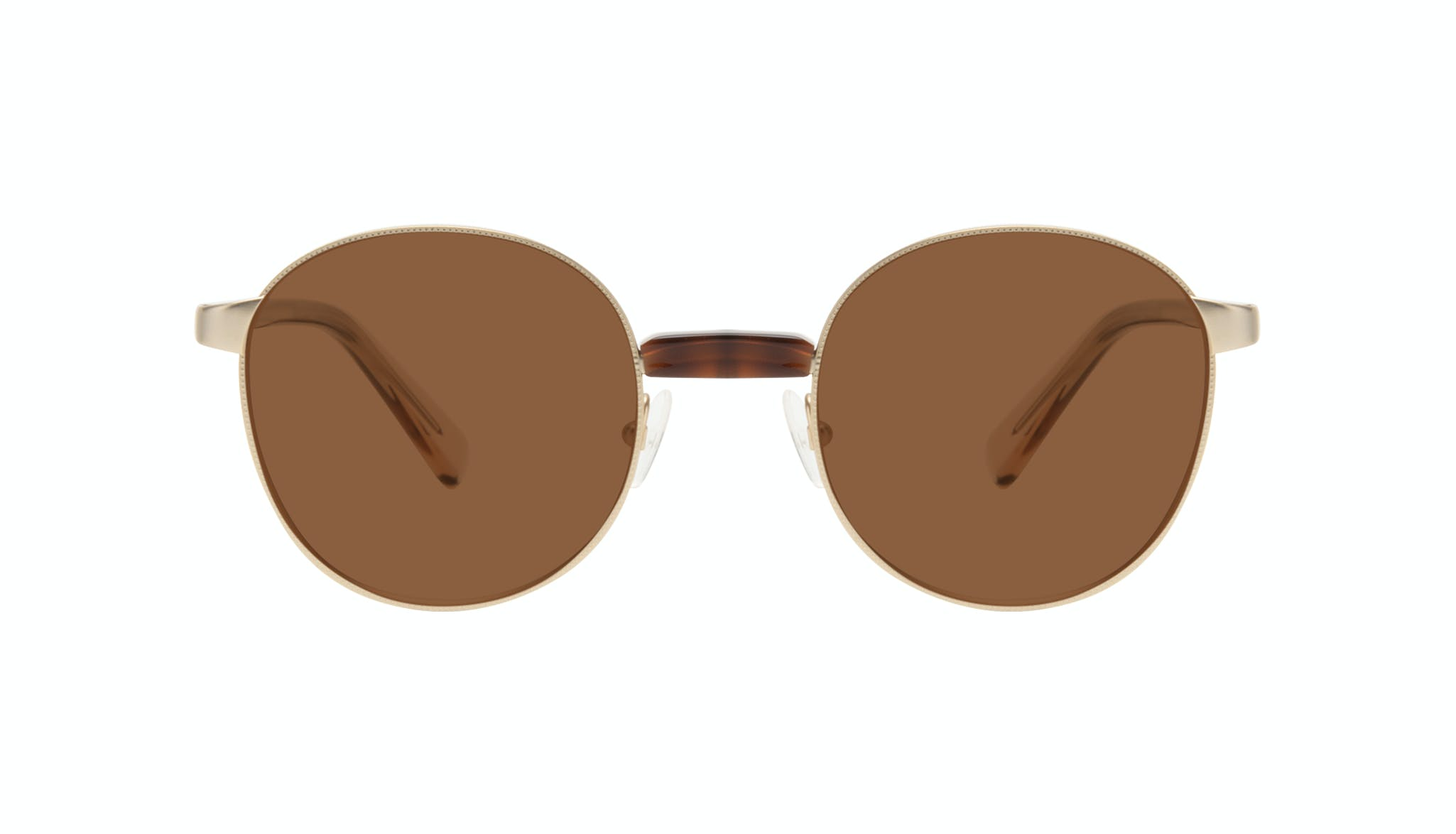 Affordable Fashion Glasses Round Sunglasses Women Curious Gold Front