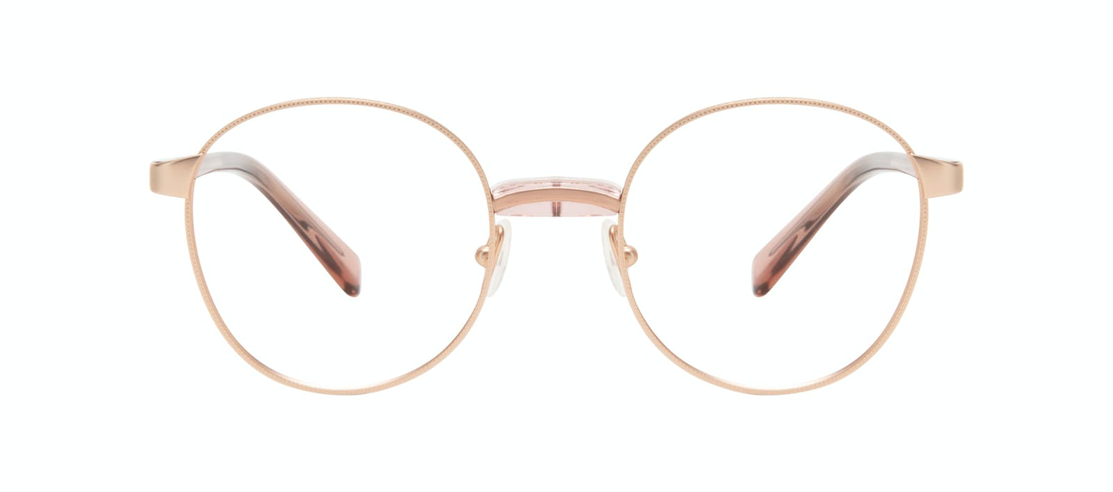 3cf66ff4cd Affordable Fashion Glasses Round Eyeglasses Women Curious Rose Front