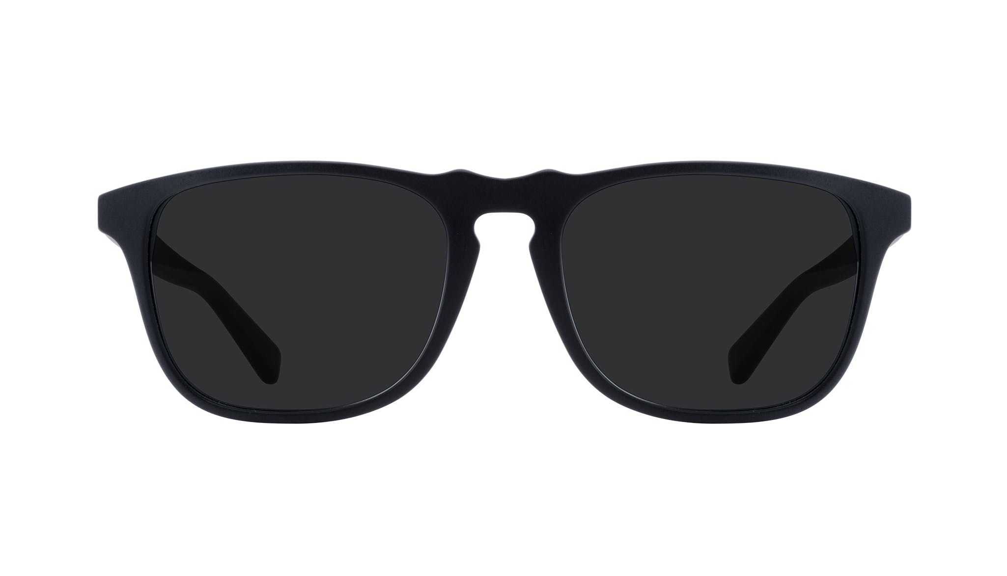 Lunettes tendance Rectangle Lunettes de soleil Hommes Dare Matte Black Face
