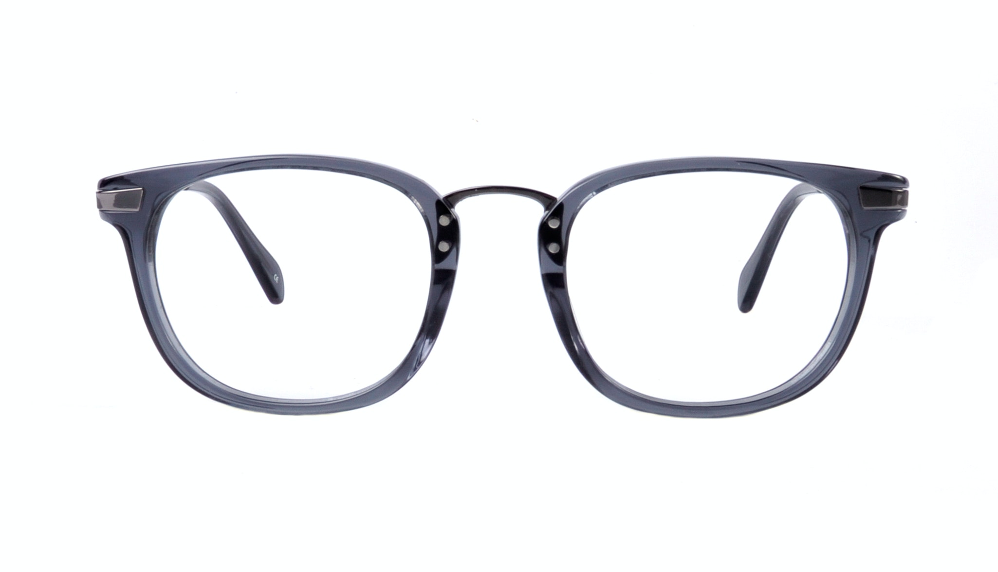 Affordable Fashion Glasses Rectangle Eyeglasses Men Women Daze Black Ice