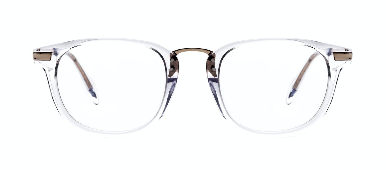 fb8d6595b4d Affordable Fashion Glasses Rectangle Square Eyeglasses Men Daze Gold  Diamond Front