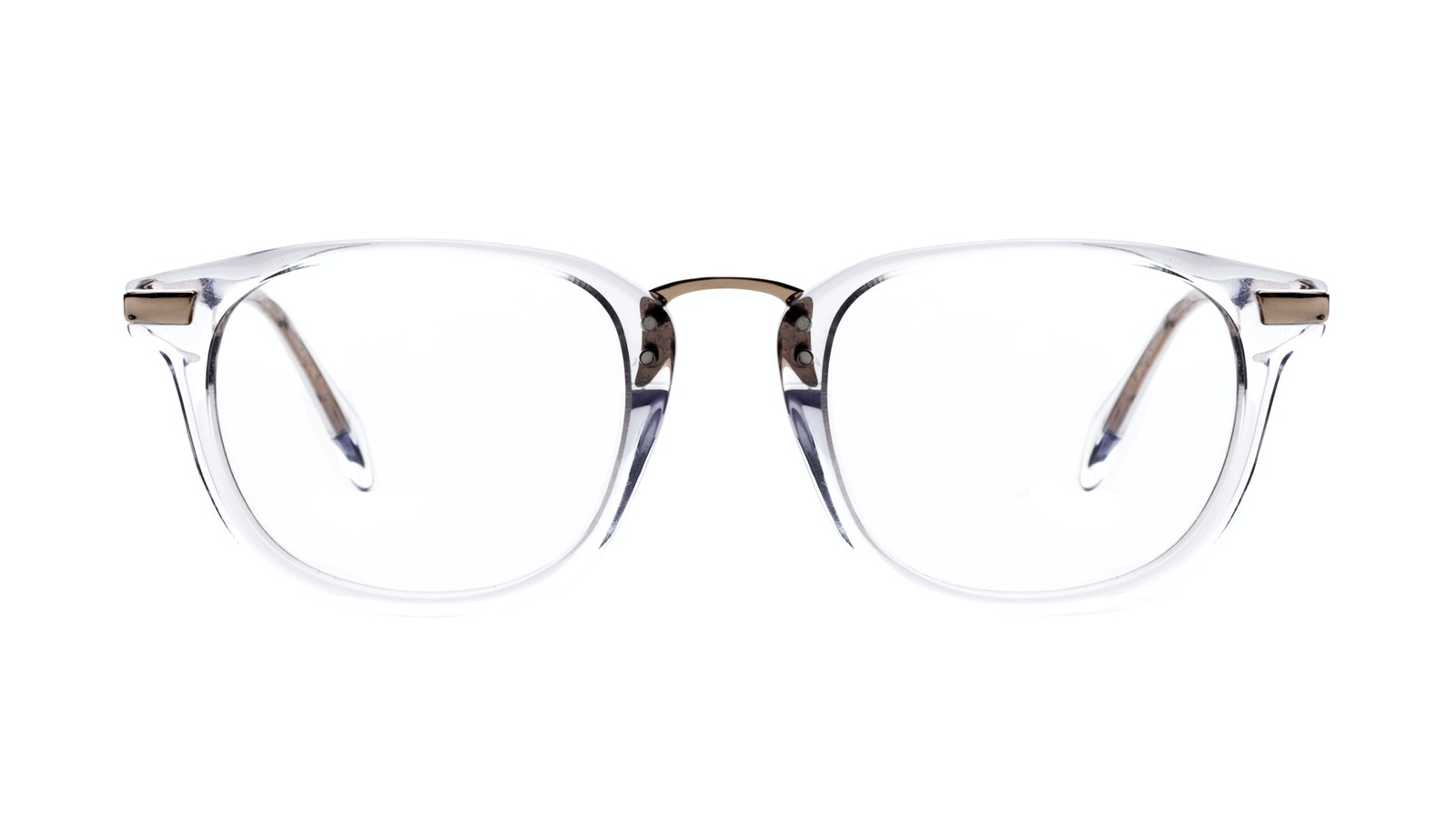 Affordable Fashion Glasses Rectangle Square Eyeglasses Men Daze Gold Diamond