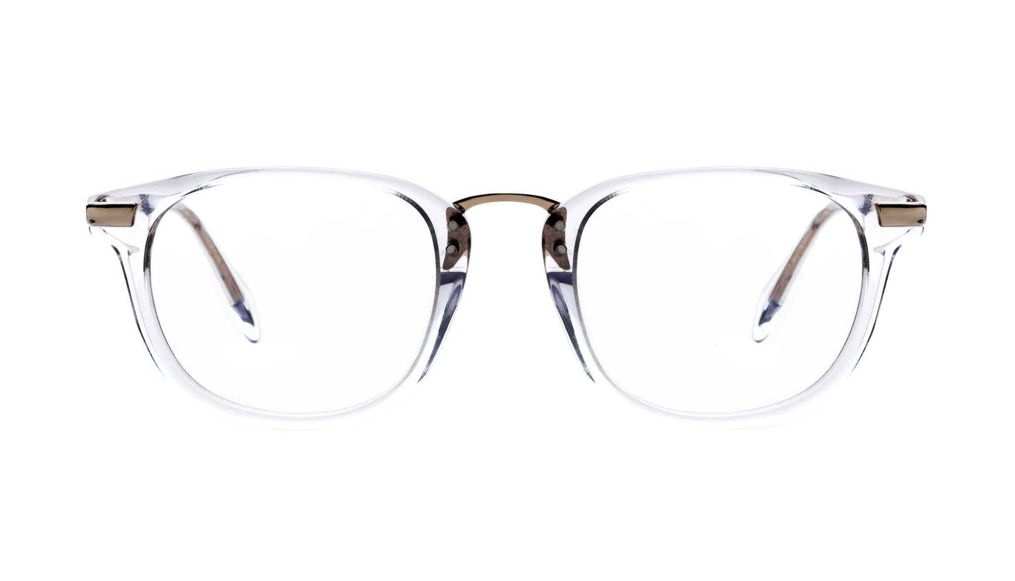 Affordable Fashion Glasses Rectangle Square Eyeglasses Men Daze Gold Diamond