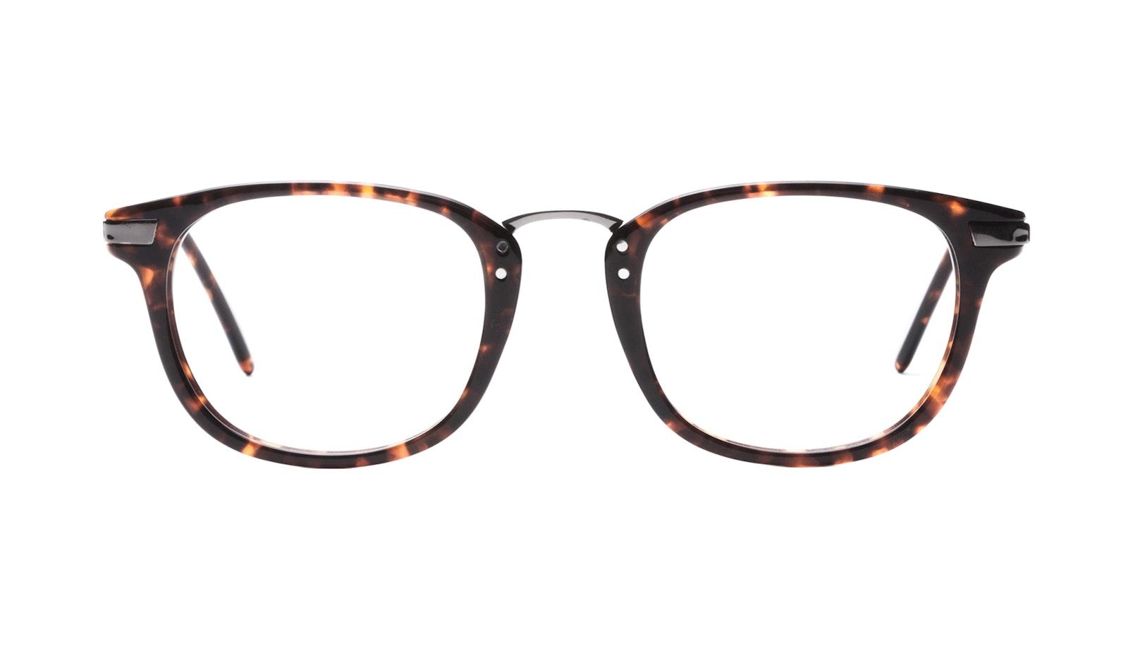 Affordable Fashion Glasses Rectangle Square Eyeglasses Men Daze Sepia