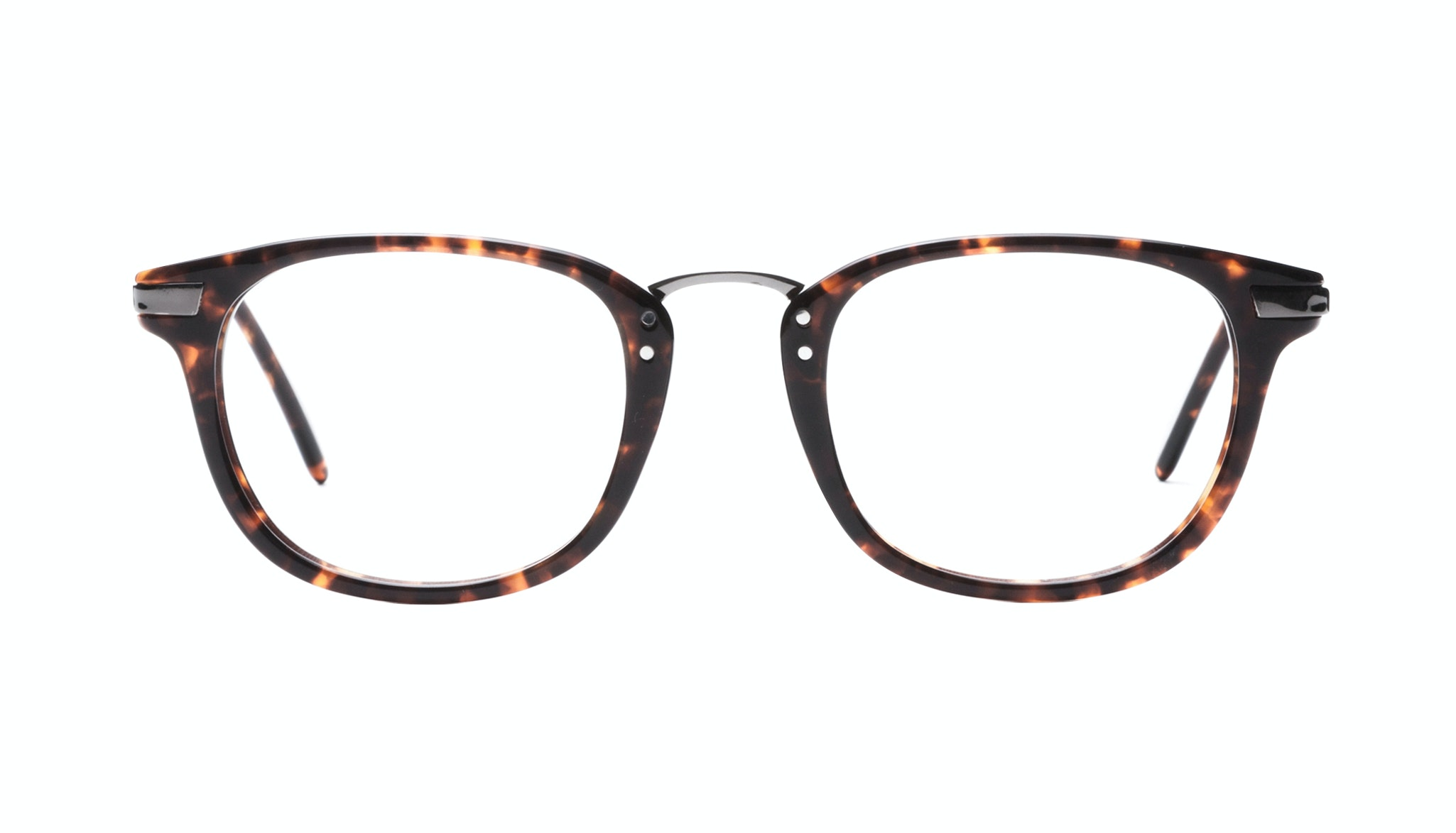 Affordable Fashion Glasses Rectangle Square Eyeglasses Men Daze Sepia