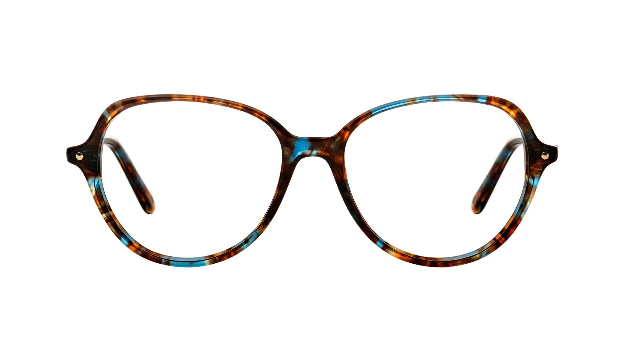 Affordable Fashion Glasses Round Eyeglasses Women Dazzle Blue Storm Front