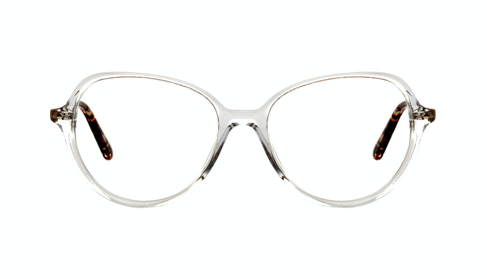 Affordable Fashion Glasses Round Eyeglasses Women Dazzle Diamond Lava Front