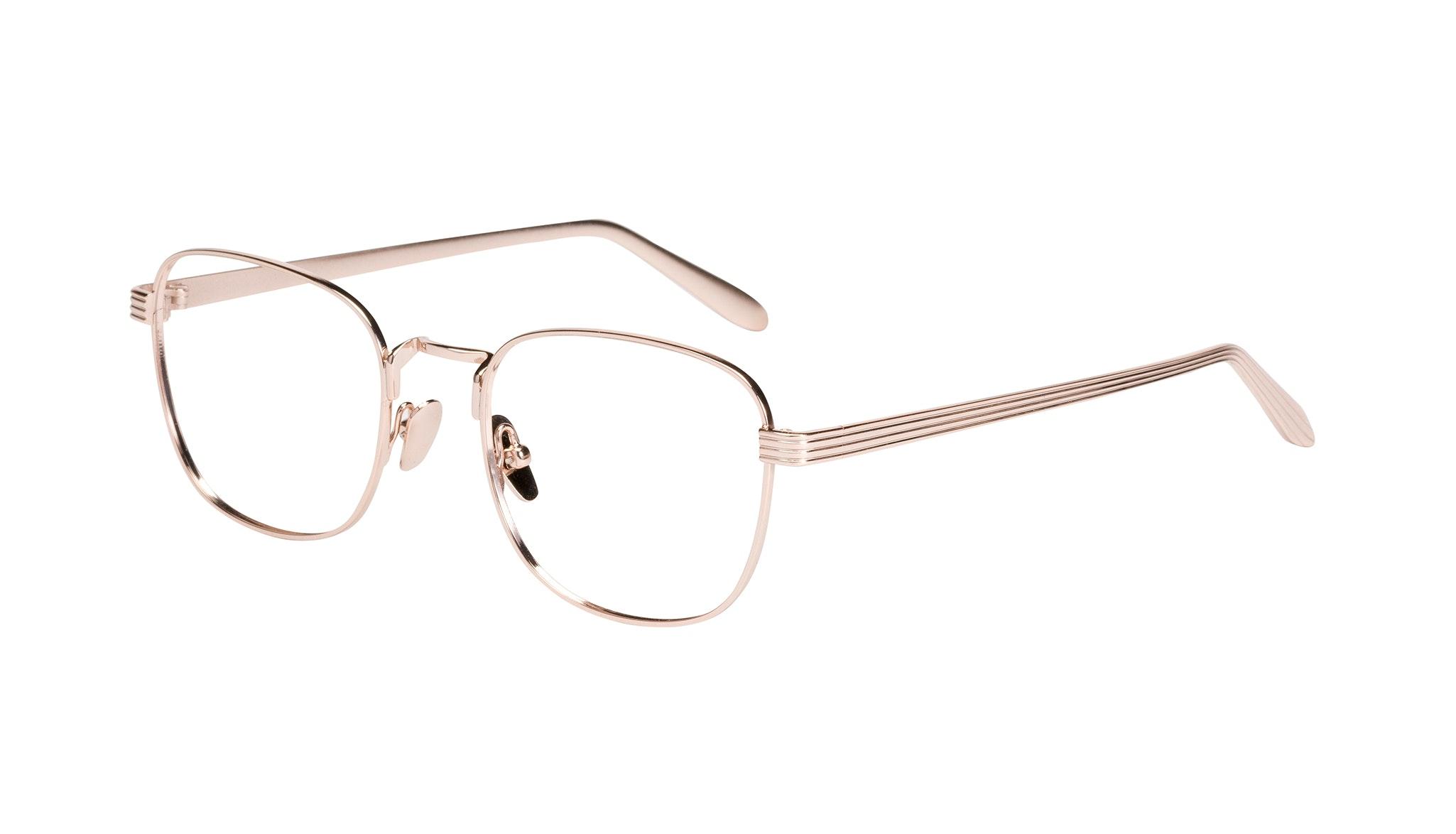 Affordable Fashion Glasses Rectangle Eyeglasses Women Delight Gold Tilt