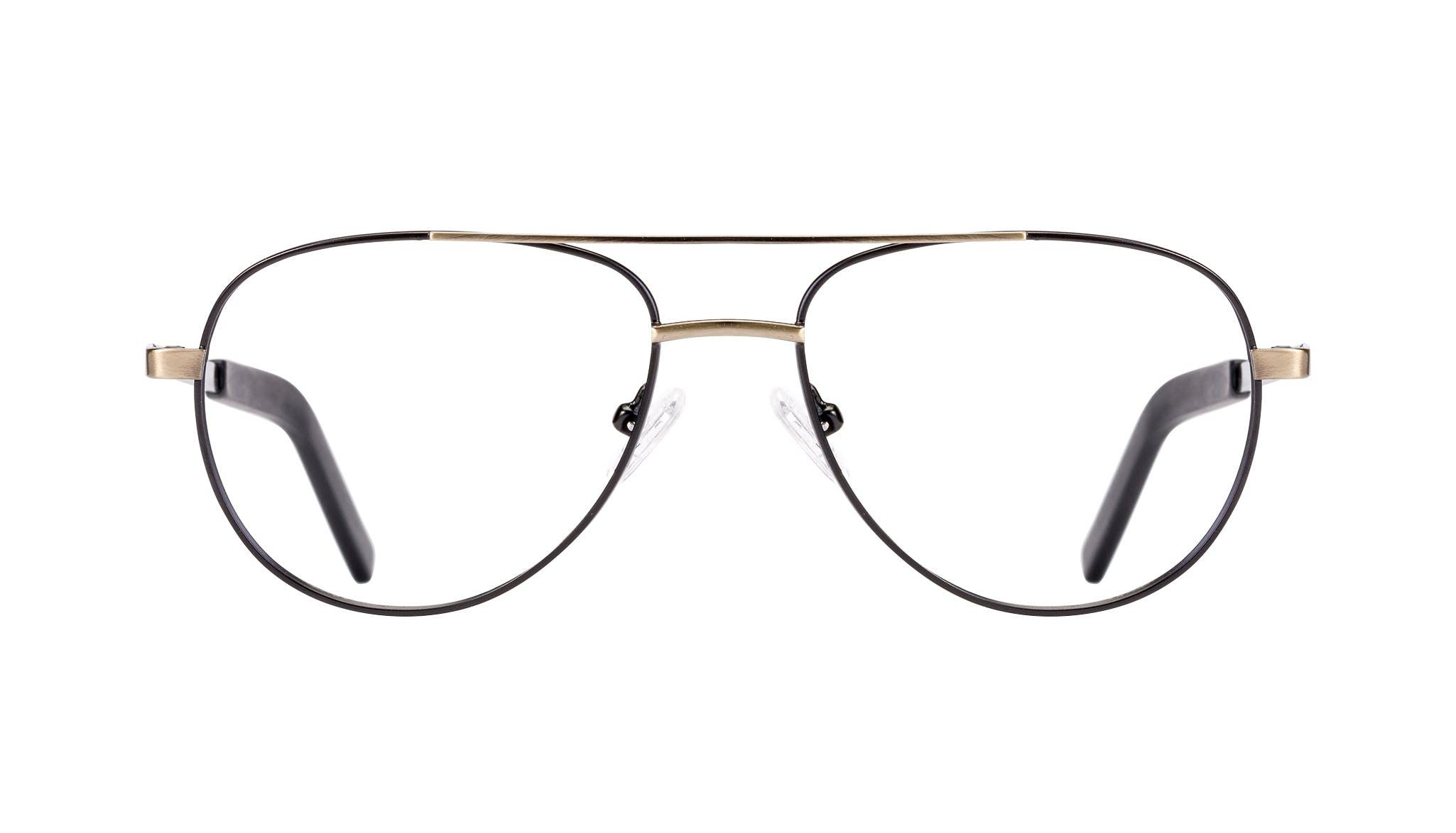 Affordable Fashion Glasses Aviator Eyeglasses Men Devoted Deep Gold Front
