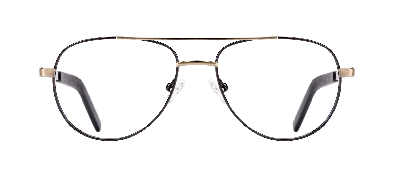 Affordable Fashion Glasses Aviator Eyeglasses Men Devoted Deep Gold Front