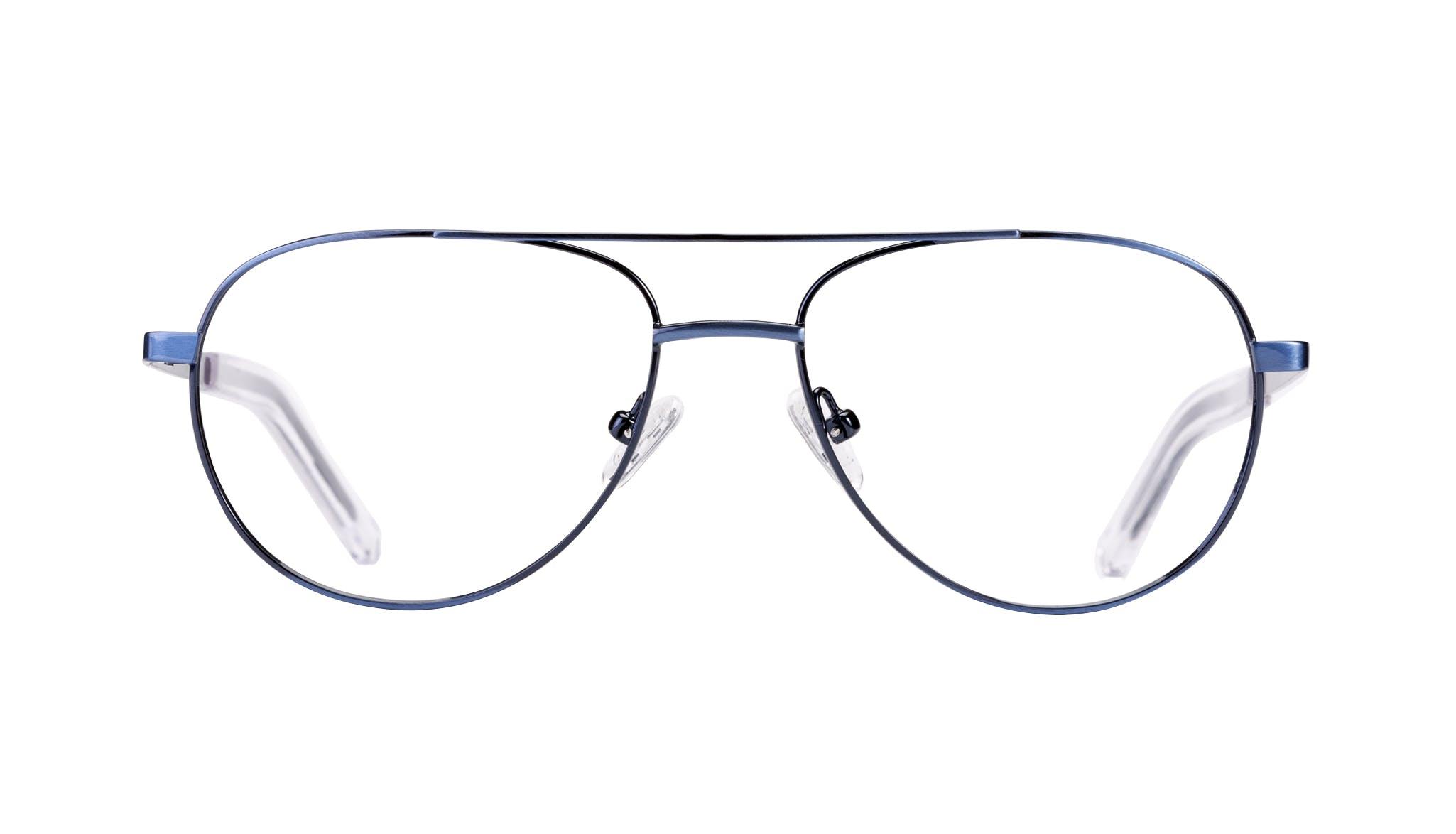 Affordable Fashion Glasses Aviator Eyeglasses Men Devoted Midnight Front