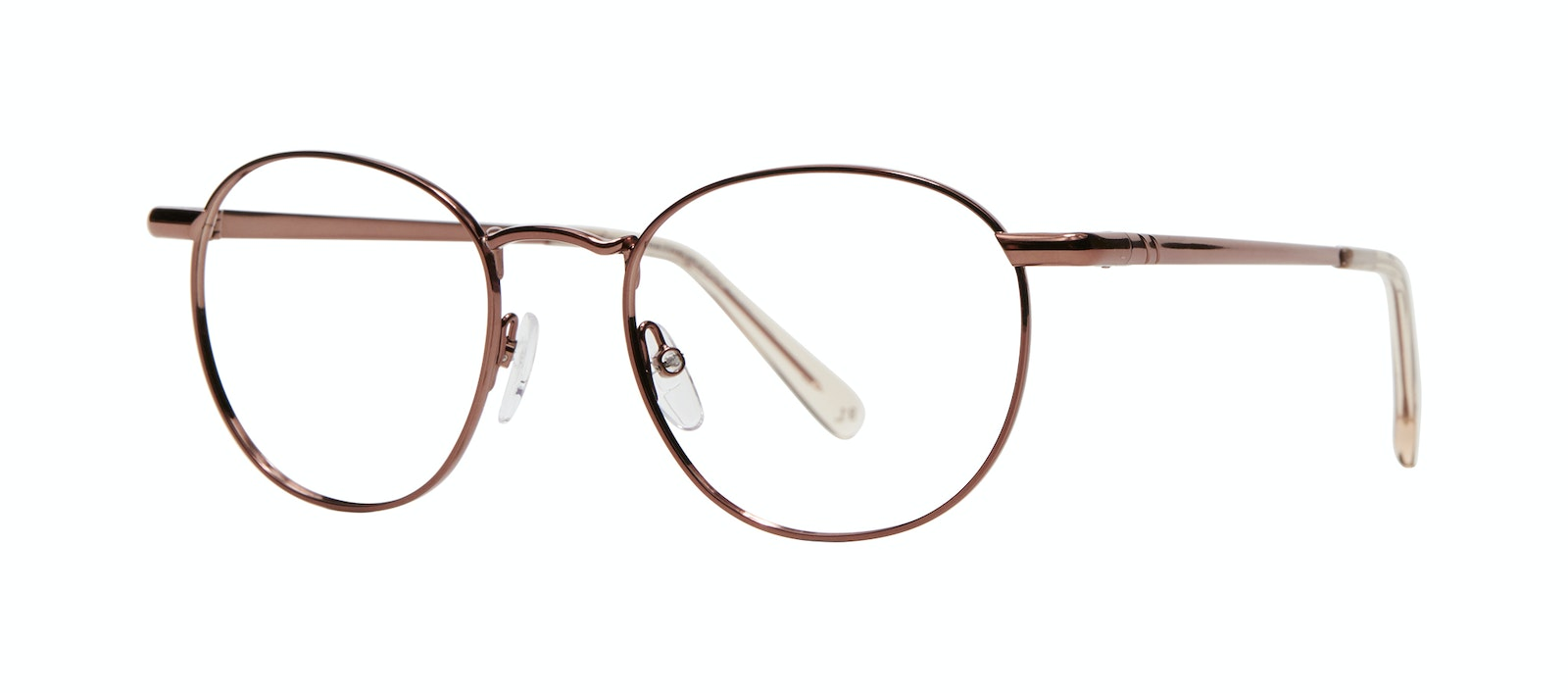 Affordable Fashion Glasses Round Eyeglasses Women Divine L Copper Tilt